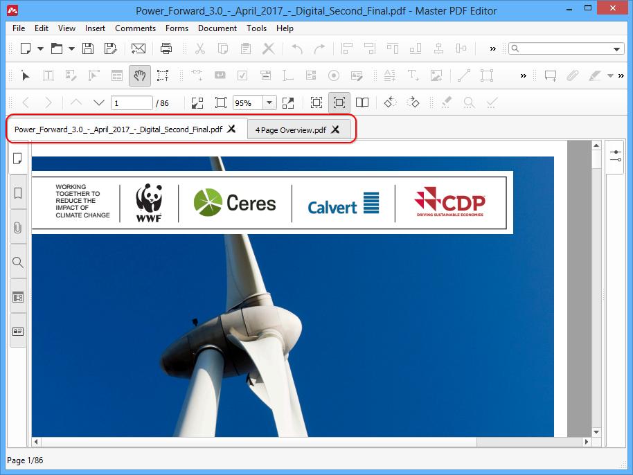 PDF Document Navigation