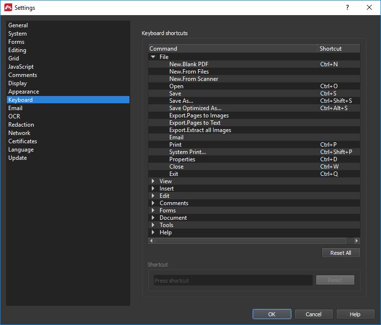 Master PDF Editor - Preferences